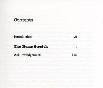 The Home Stretch (Paperback)