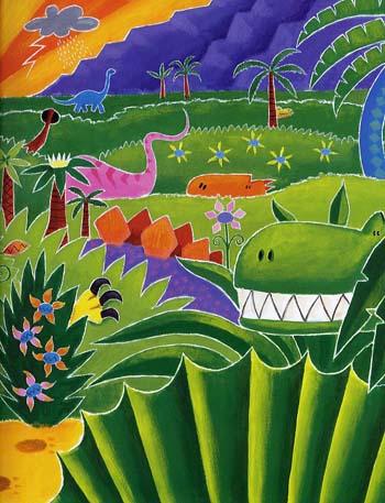 Dinosaurs Galore! (Paperback)