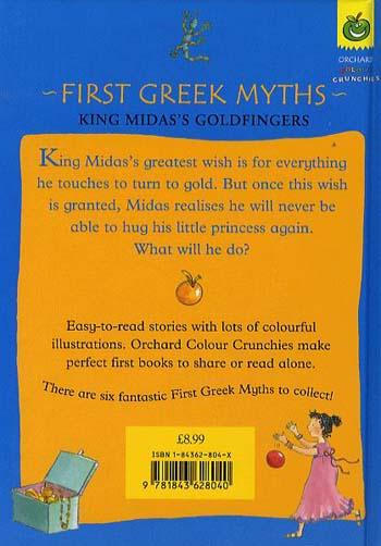 King Midas's Goldfingers - First Greek Myths (Hardback)