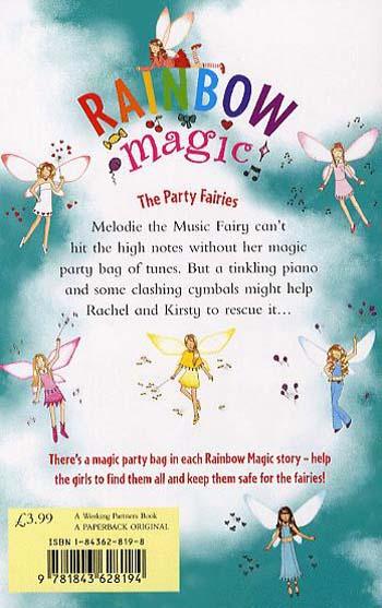 Rainbow Magic: Melodie The Music Fairy: The Party Fairies Book 2 - Rainbow Magic (Paperback)