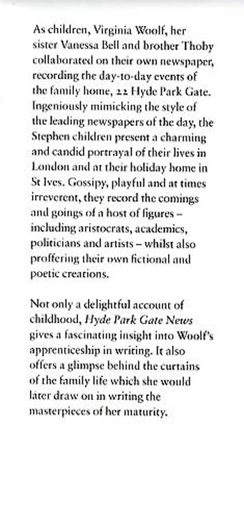 Hyde Park Gate News: The Stephen Family Newspaper - Hesperus Classics (Paperback)