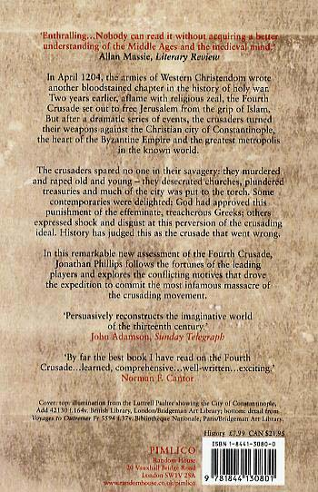 The Fourth Crusade: And the Sack of Constantinople (Paperback)