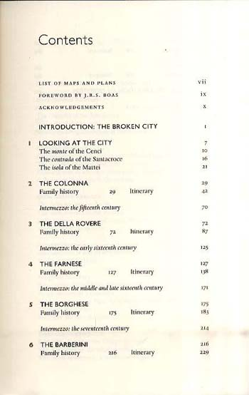 The Families Who Made Rome: A History and a Guide (Paperback)