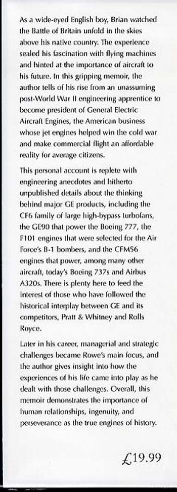 The Power to Fly: From De Havilland Apprentice to Chairman of General Electric Engines (Hardback)