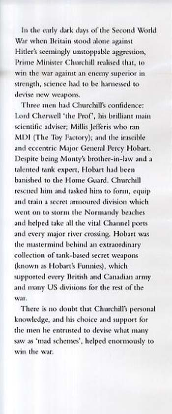 Churchill's Secret Weapons: The Story of Hobart's Funnies (Hardback)