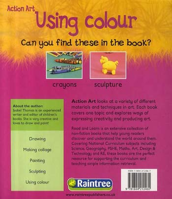 Using Colour - Read and Learn: Action Art (Paperback)