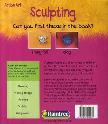 Sculpting - Read and Learn: Action Art (Paperback)