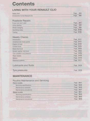 Renault Clio Petrol and Diesel Service and Repair Manual: 01-04 (Y Reg Onwards) - Haynes Service and Repair Manuals (Board book)