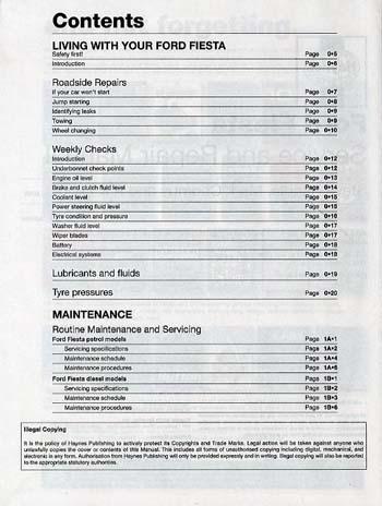 ford fiesta service and repair manual by steve rendle mark coombs rh waterstones com 2009 Ford Fiesta 2005 Ford Fiesta