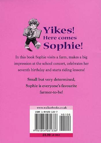 Sophie is seven by dick king smith david parkins waterstones sophie is seven paperback fandeluxe Choice Image