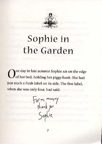 Sophie is seven by dick king smith david parkins waterstones sophie is seven paperback fandeluxe Image collections