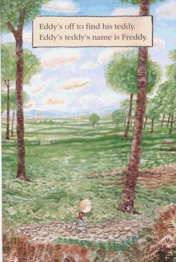Where's My Teddy? - Eddy and the Bear (Paperback)
