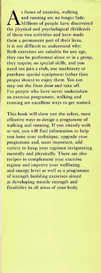 Fitness and Health: Walking and Running (Hardback)