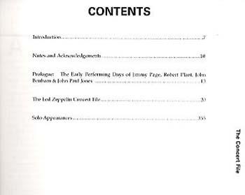 """""""Led Zeppelin"""" Concert File (Paperback)"""