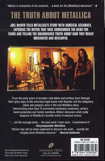 """Justice for All: The Truth About """"Metallica"""" (Paperback)"""