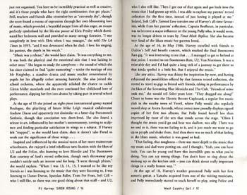 P.J.Harvey: Siren Rising (Paperback)