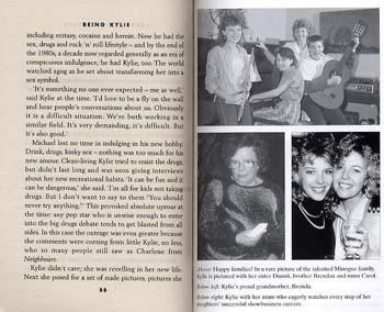 Being Kylie (Paperback)