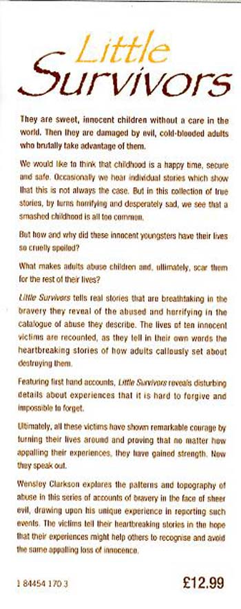 Little Survivors (Hardback)