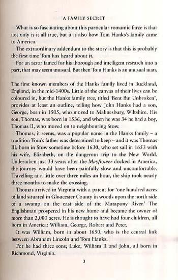 The Tom Hanks Enigma (Hardback)