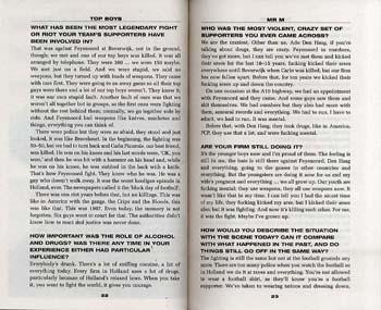 Top Boys: True Stories of Football's Hardest Men (Paperback)