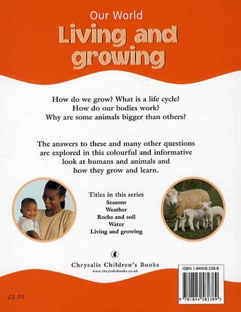 Our World Living and Growing (Paperback)
