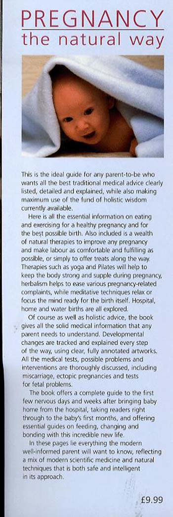 Pregnancy the Natural Way (Paperback)