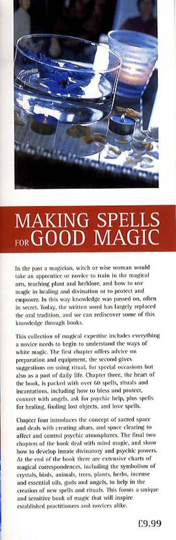Making Spells for Good Magic (Paperback)