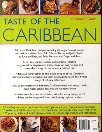 Taste of the Caribbean (Paperback)