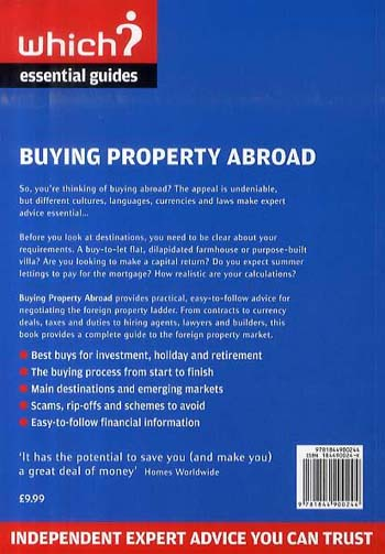 Buying Property Abroad (Paperback)