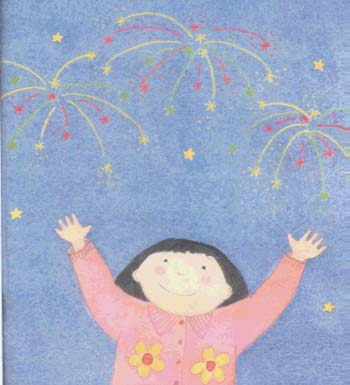 Lanterns and Firecrackers: A Chinese New Year Story - Festival Time (Paperback)