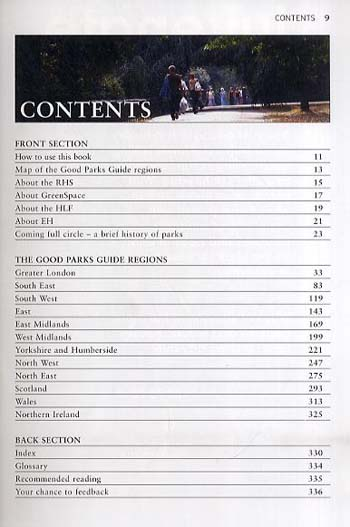 The Good Parks Guide (Paperback)