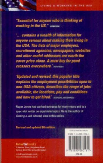 Getting A Job In America 8th Edition: A Step-by-Step Guide to Finding Work in the USA (Paperback)