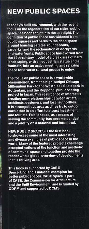 New Public Spaces (Hardback)
