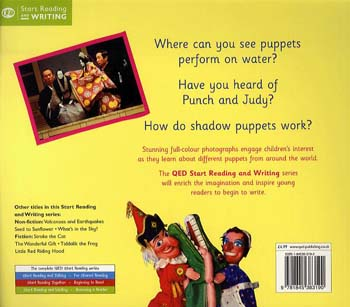 Puppets Around the World - Start Writing S. (Paperback)