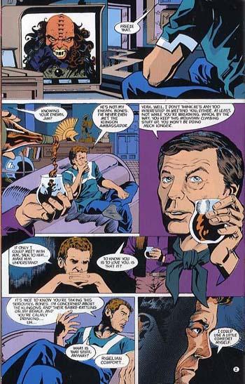 Star Trek Comics Classics (Paperback)