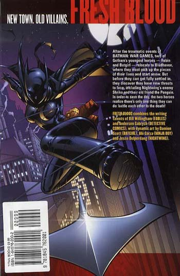 Robin/Batgirl: Fresh Blood (Paperback)