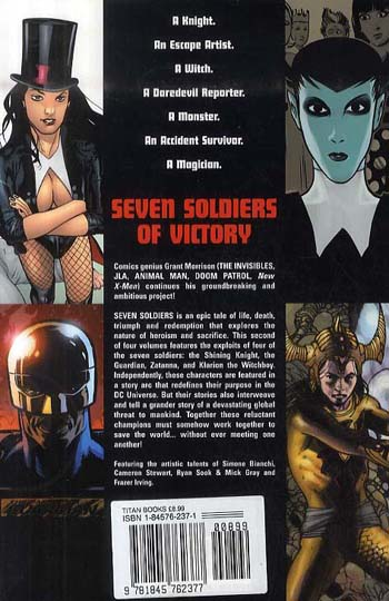 Seven Soldiers of Victory: v. 2 (Paperback)