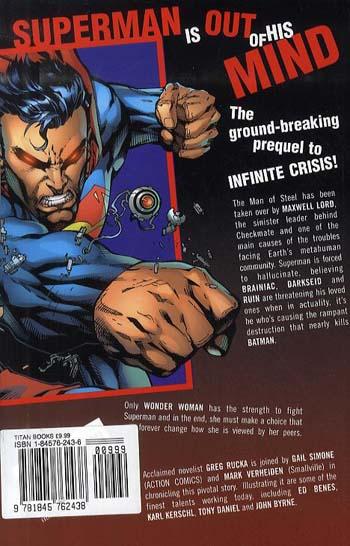 Superman: Sacrifice (An Infinite Crisis Story) (Paperback)