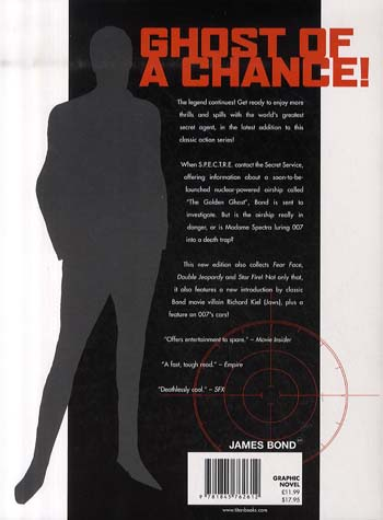 James Bond: James Bond - the Golden Ghost Golden Ghost (Paperback)