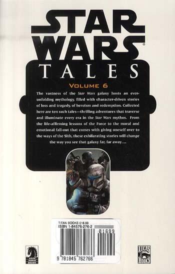 """Star Wars"" Tales: v. 6 (Paperback)"