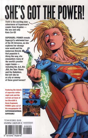 Supergirl: Power (Paperback)