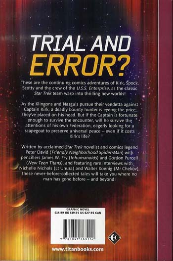 Star Trek Comics Classics: Trial of James T. Kirk (Paperback)