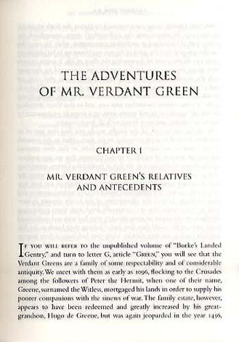 Mr Verdant Green: Adventures of an Oxford Freshman: Nonsuch Classics (Paperback)