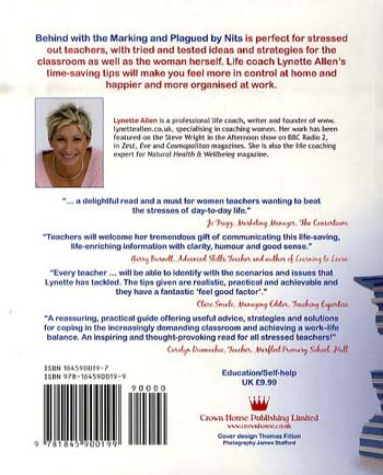 Behind with the Marking and Plagued by Nits: Life Coaching Strategies for Busy Teachers (Paperback)