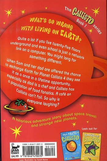 The Cafe on Callisto - Callisto S. Bk. 1 (Paperback)