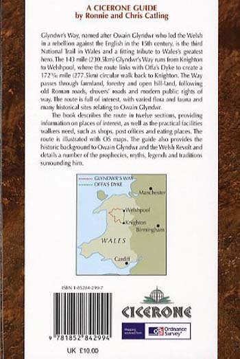 Glyndwr's Way: From Knighton to Welshpool (Paperback)