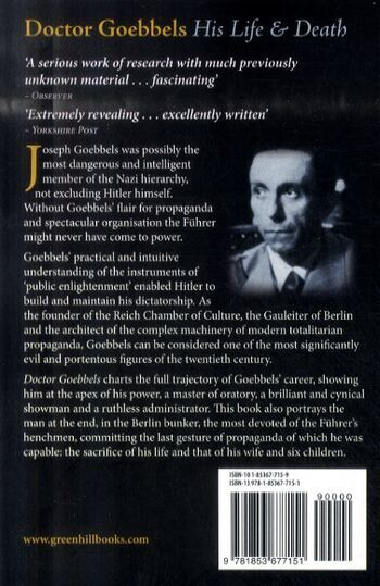 Doctor Goebbels: His Life and Death (Paperback)