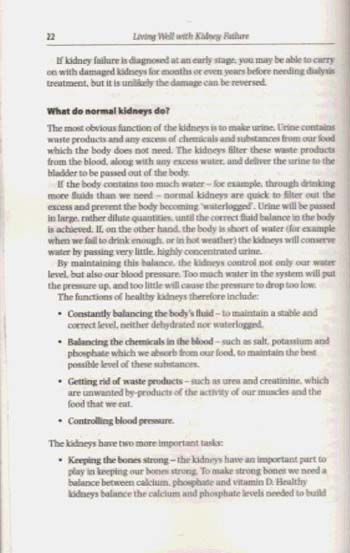 Living Well with Kidney Failure (Paperback)