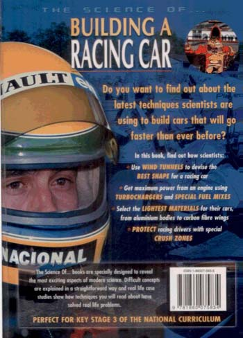 The Science of Building a Racing Car - Science of... S. v. 5 (Paperback)