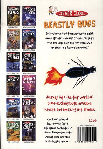 Clever Clogs: Beastly Bugs - Clever Clogs S. No. 2 (Paperback)